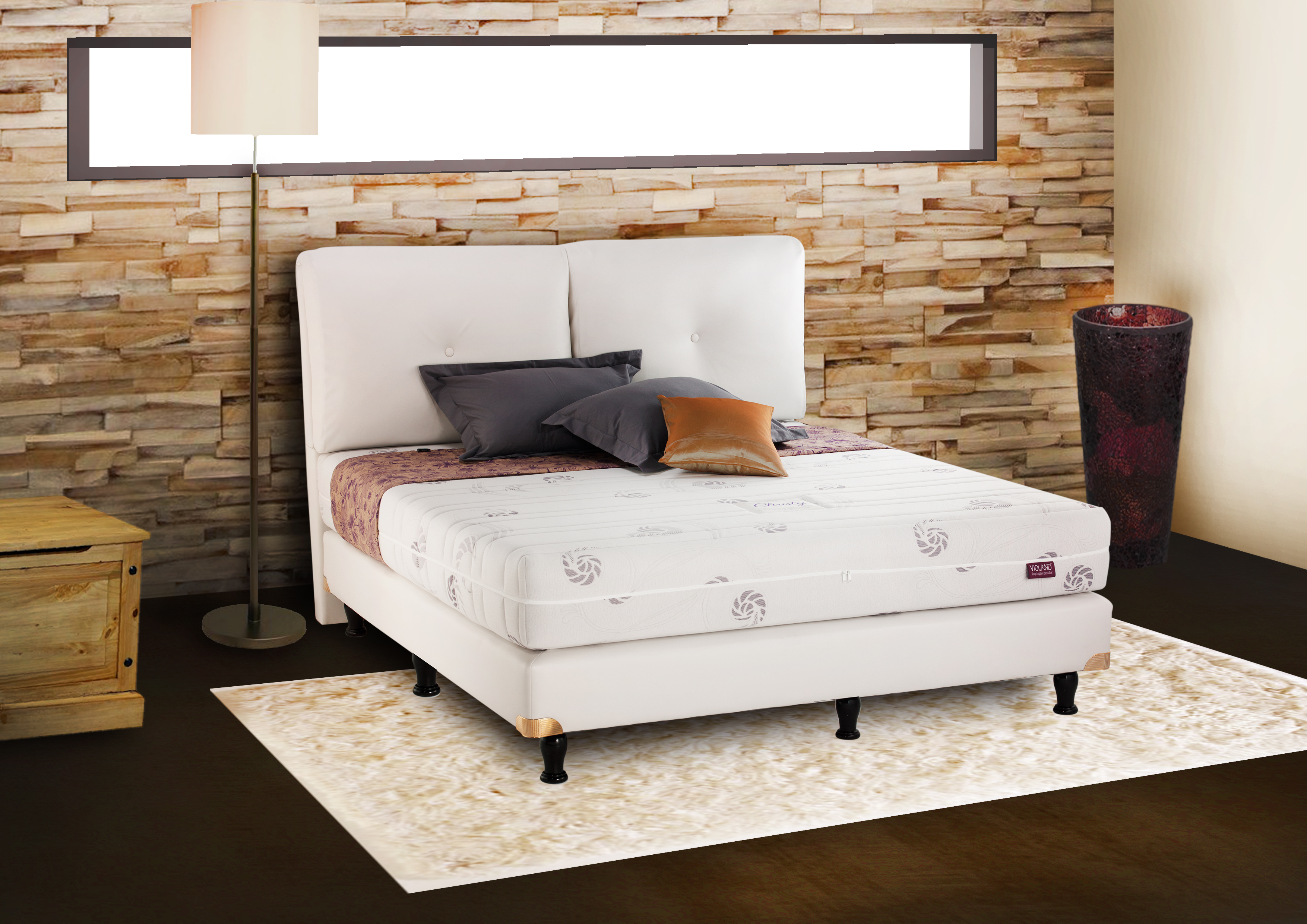 Christy orthopedic latex violand mattress manufacturers indonesia